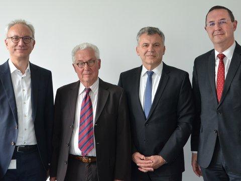 Verabschiedung von Aufsichtsratsmitglied Gerhard Becher